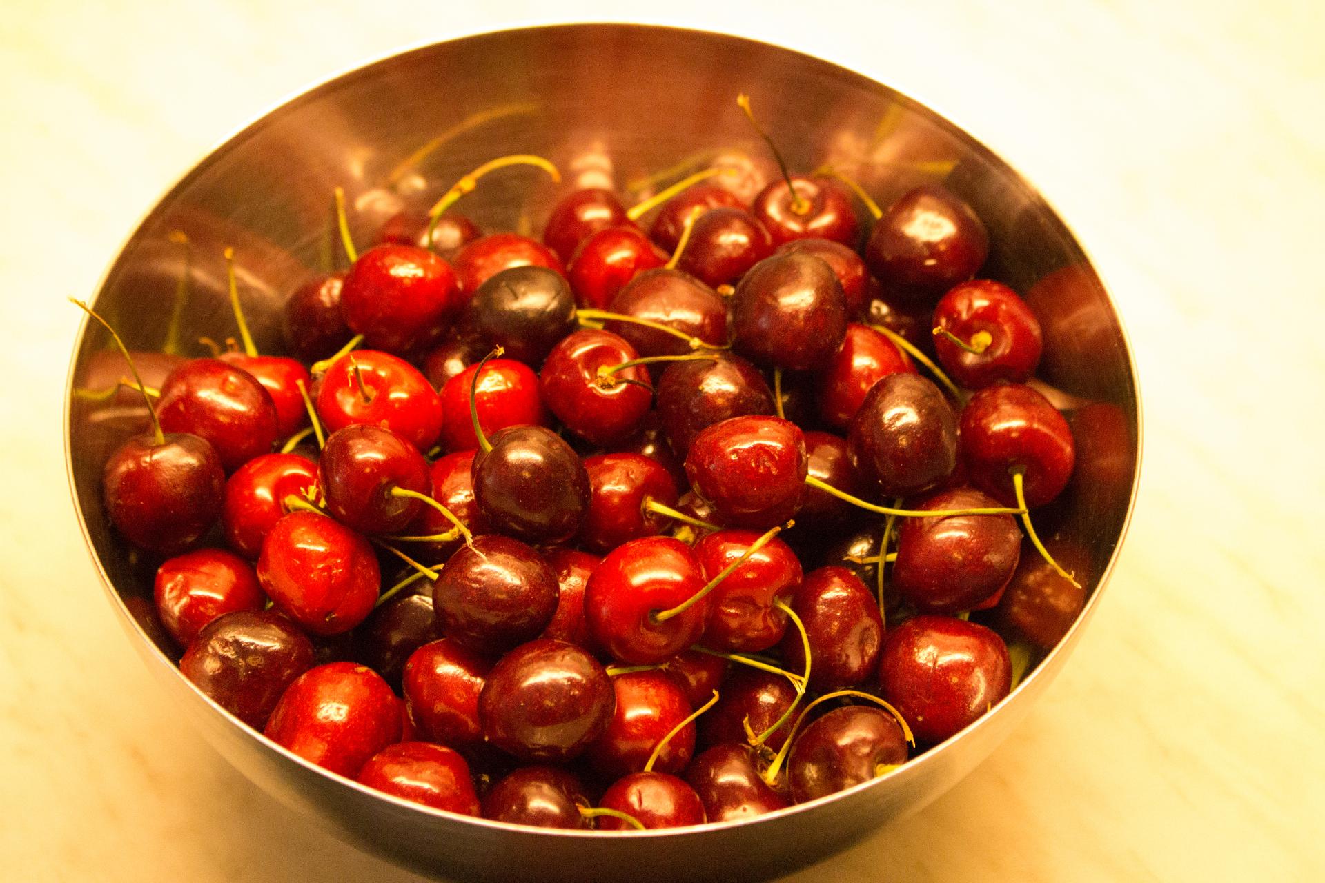 Firsch Erdbeeren im Korb